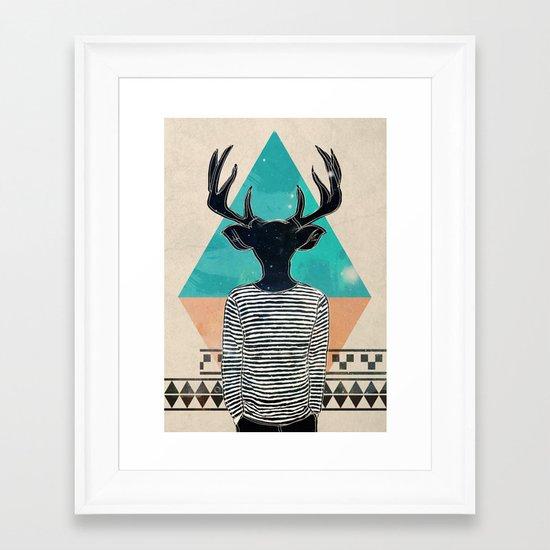 Neck of the Woods Framed Art Print