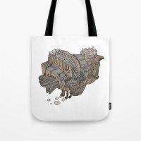 Space Bird Tote Bag
