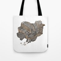 Space Bird Tote Bag