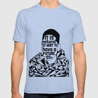 Tamir Rice - Black Lives Matter - Series - Black Voices Mens Fitted Tee Tri-Blue SMALL
