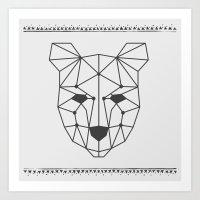 Totem Festival 2015 - Bl… Art Print