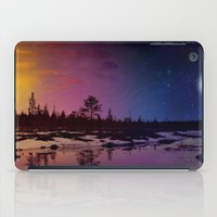 Day And Night - Painting iPad Case