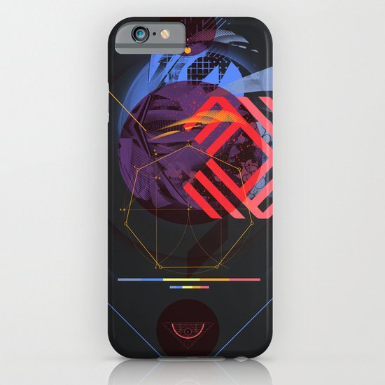 Chaotic Polygon Ensemble iPhone & iPod Case