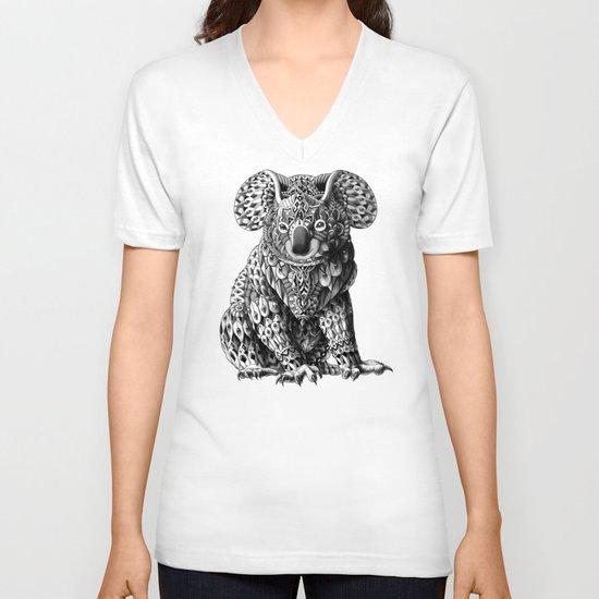 Koala V-neck T-shirt