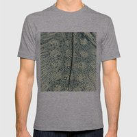 feather Mens Fitted Tee Athletic Grey SMALL