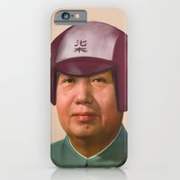 iPhone & iPod Case featuring Helmet Mao by happiestfung