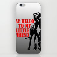 Say Hello To My Little G… iPhone & iPod Skin