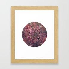 Geometrie #4 Framed Art Print