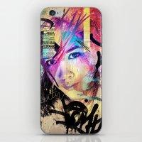 Street Queen iPhone & iPod Skin