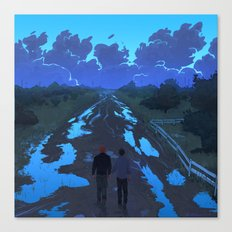 Strange Creatures Canvas Print