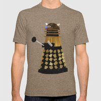 Dalek (Collage) Mens Fitted Tee Tri-Coffee SMALL