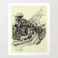 Landscape 05 Art Print