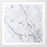Marble Pattern  Art Print