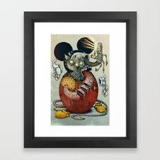 Acid Slouse Framed Art Print