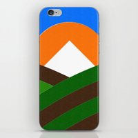 Mt Hood & Vineyard iPhone & iPod Skin
