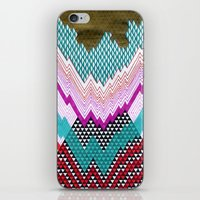 Isometric Harlequin #5 iPhone & iPod Skin