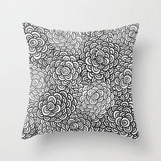 Scallop Bombs Throw Pillow