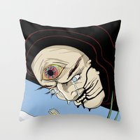 Trial By Daisy Throw Pillow