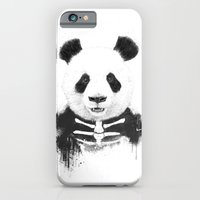 Zombie panda iPhone 6 Slim Case