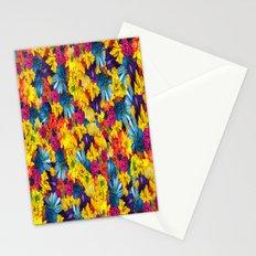 Rainbow Daisies Stationery Cards