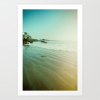 CDM Waves. Art Print