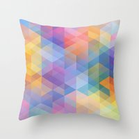 Cuben 15 Throw Pillow