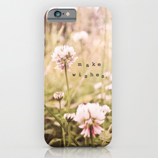 Make Wishes iPhone & iPod Case