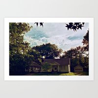 Clouds Of Lawrence, Kans… Art Print