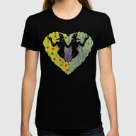 Self Love Womens Fitted Tee Black SMALL