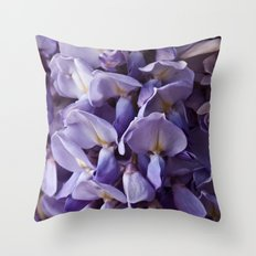 Wisteria Throw Pillow