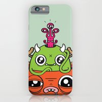 iPhone & iPod Case featuring Monster Mind by Tratinchica