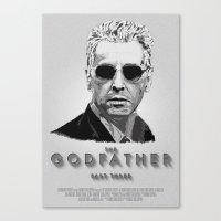 The Godfather - Part Thr… Canvas Print