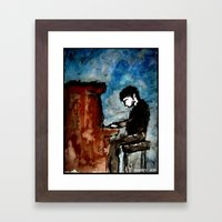 There Is Poetry In The W… Framed Art Print