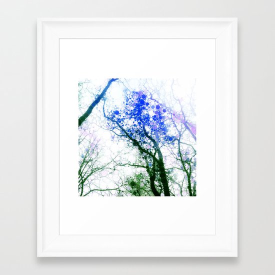 Tree Abstract 1 Framed Art Print