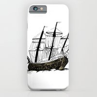 ship iPhone & iPod Cases featuring Ship by Bonnie & Caprice
