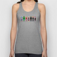 The Pixel A Vengers Unisex Tank Top