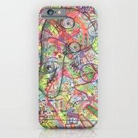 iPhone & iPod Case featuring Basura Cerebro by Bili Kribbs