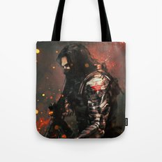 Blood in the Breeze Tote Bag