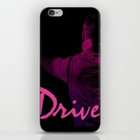 Ryan Gosling in Drive iPhone & iPod Skin