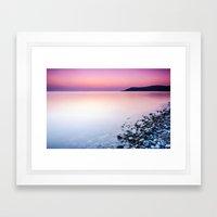 Deganwy Sunset Framed Art Print