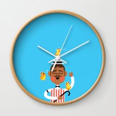 Barbershop Quartet Wall Clock