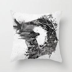 [ D ]ISASTER Throw Pillow