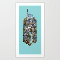 Mostar Art Print