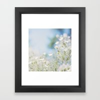 . Sweet Spring . Framed Art Print