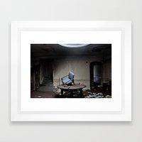 Party's Over Framed Art Print