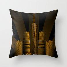 Guangzhou (China) Throw Pillow