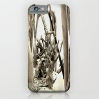 iPhone & iPod Case featuring Driftwood (B&W) by Feamor Tiosen