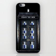 new Tardis doctor who sherlock holmes 221b door iPhone 4 4s 5 5c, ipod, ipad, pillow case and tshirt iPhone & iPod Skin