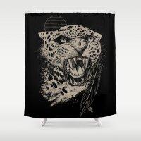 Jaguar Sun Shower Curtain