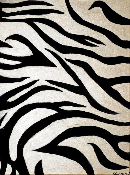 Tyger Stripes Art Print